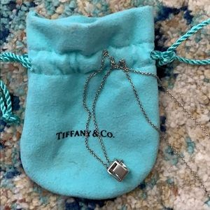Tiffany & Co. LOVE charm and chain